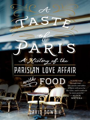 cover image of A Taste of Paris